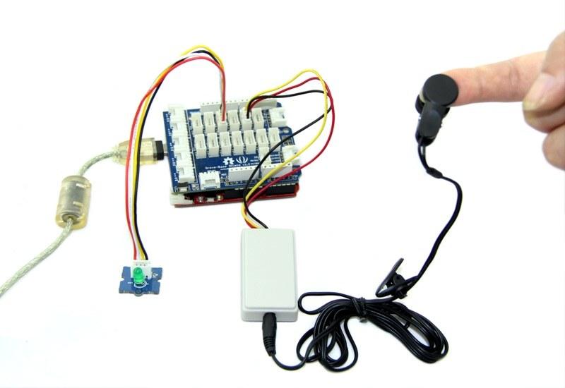 klipsli nabız ölçer sensör - ear-clip heart rate sensor örnek uygulama